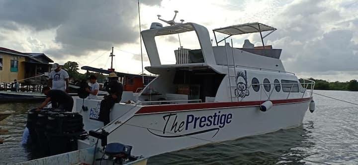 Hotel boat the prestige sandakan