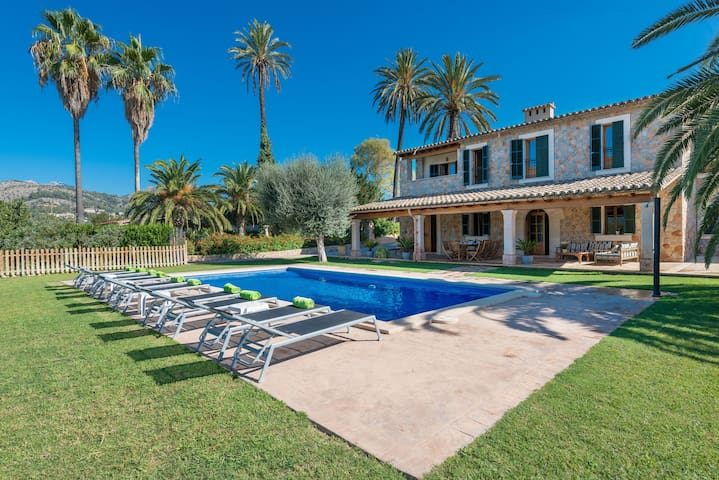 SES CASES DE S'HORT - Villa with private pool in Son Sardina.