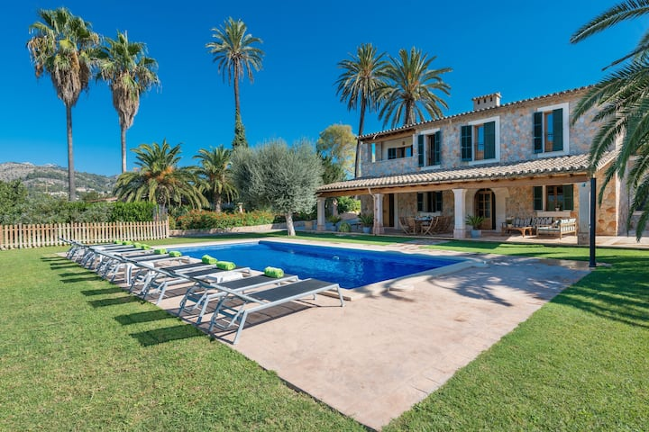 SES CASES DE S'HORT - Villa with private pool in Son Sardina. Free WiFi