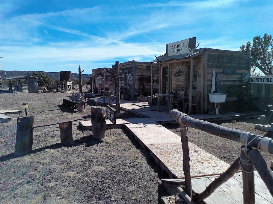 View of Old West Town