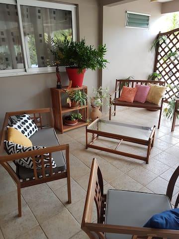 Appartement en RDC de Villa