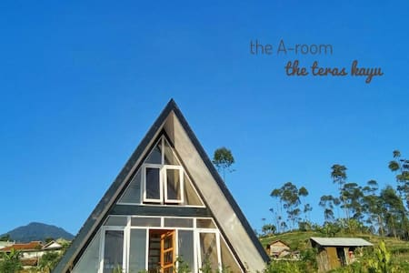 the A-room @the_teras_kayu guesthouse