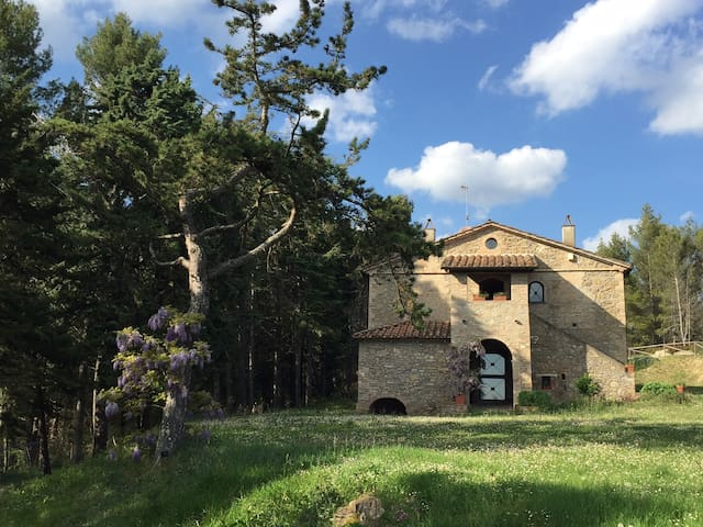 Large villa with pool NorthUmbria close to Tuscany - Città di Castello - House