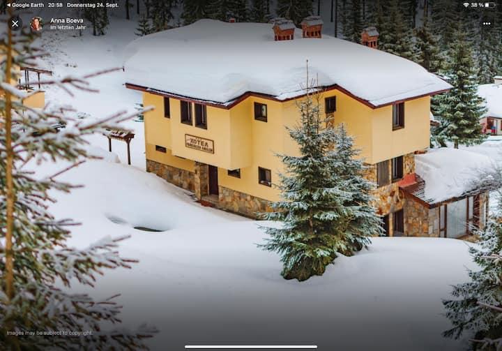 gemütliche Ferienhäuser im Skiresort Pamporowo