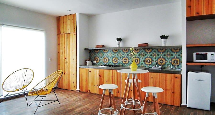 Estudio completamente equipado / Pez Dorado - Playa del Carmen - Apartment