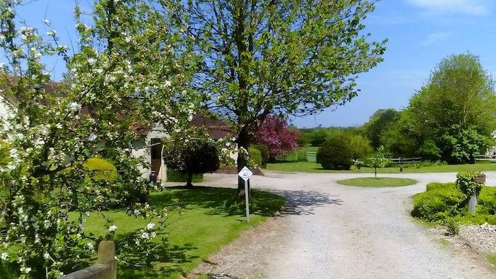 Dilly Cottage on Elmfield Farm near Canterbury