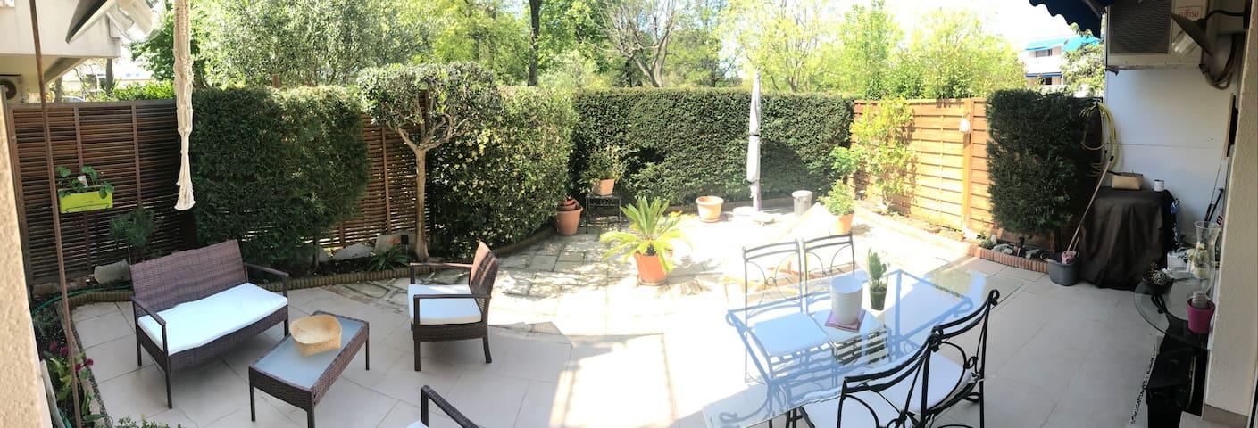 jardin , terrasse privée