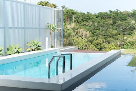 Stunning Resort Home  Infinity Pool - Yomitan-Son - 独立屋