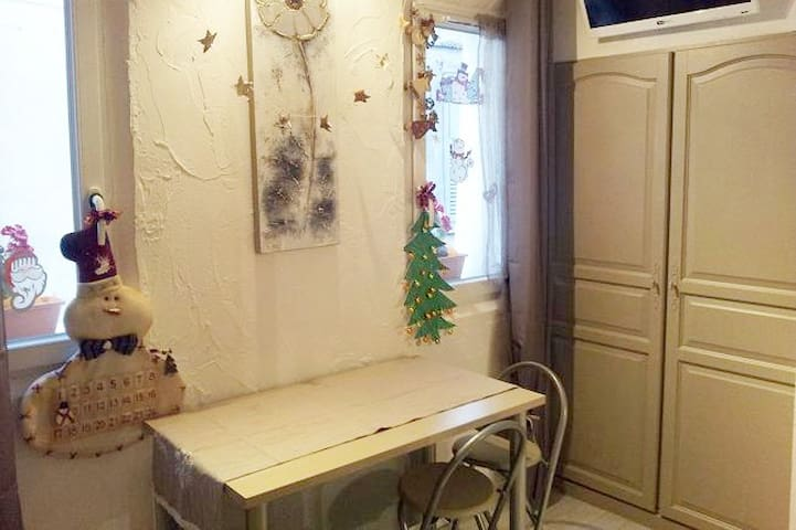 Duplex cosy et calme centre ville de montagne - Barcelonnette - Apartament