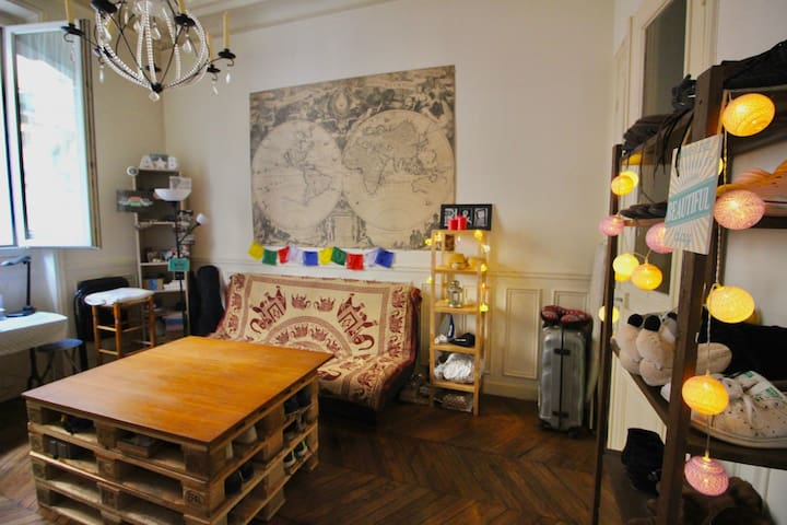 ️❤️Lovely Hausmanien Flat 36m in the heart of 14️