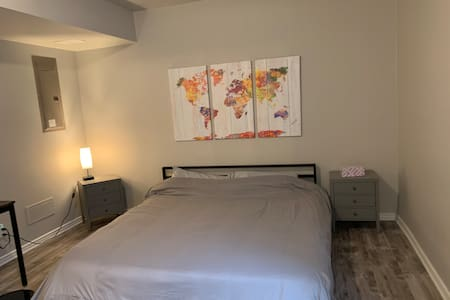 Private Modern Suite (Bed & Bath & Own Entrance)