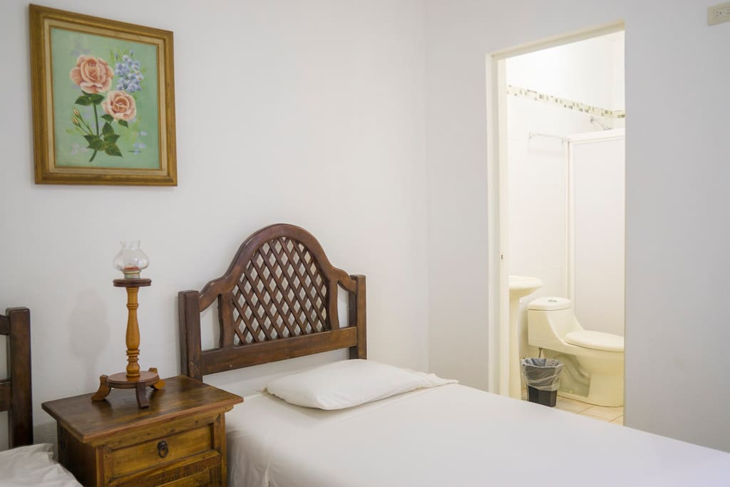 Second room 2  single beds