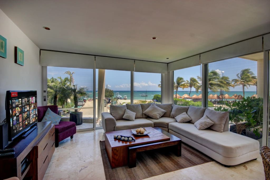 This Spectacular Corner Unit View at The Elements Playa del Carmen, Mexico