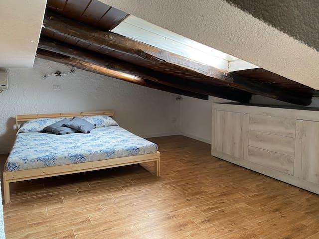 Seconda camera in mansarda