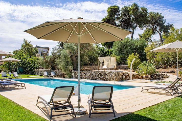 Tenuta Don Salvatore, Old House with pool (Angelo)