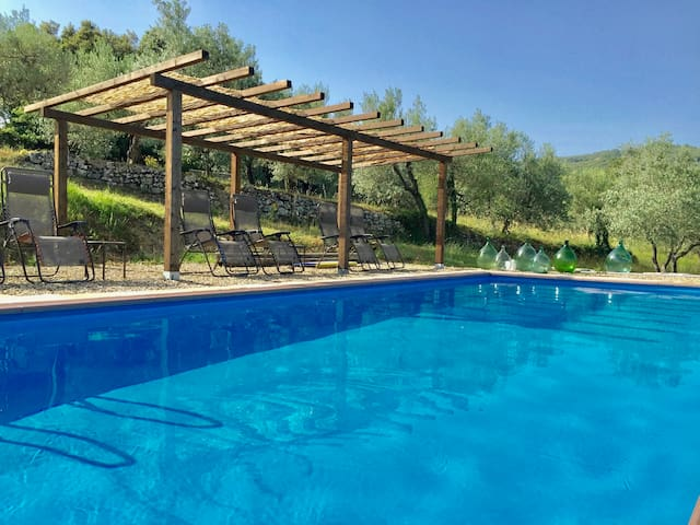 Rustic Tuscan Estate. Gated, Privacy, Pool, Views!