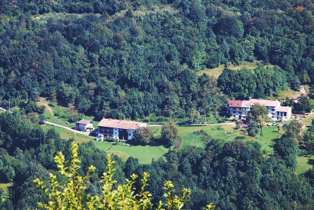 From Avrint mountain _ Calm Villa & Wellness _ Borgata Dueibis _ Verzegnis(UD) _ Friaul-Julisch Venetien _Italy