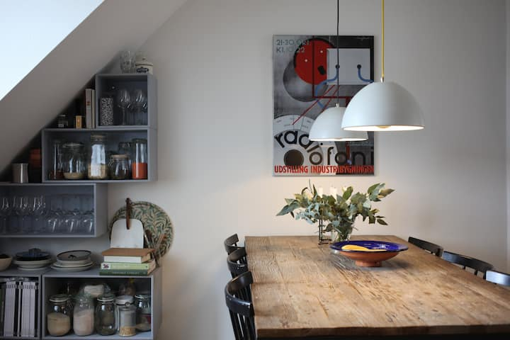 Bright and cozy apartment in the heart of Nørrebro