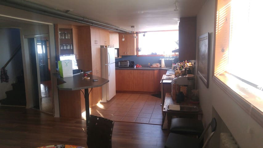 Big loft with closed room. - Montréal - Daire