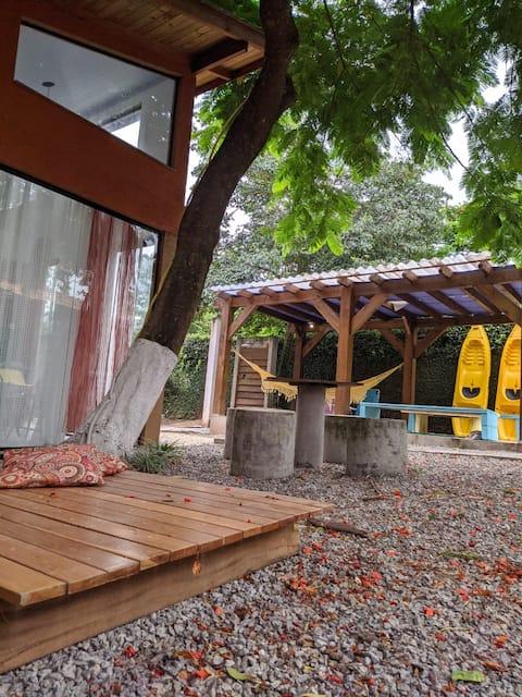 2 lofts para uma só  familia, jacuzzi  quente/wifi