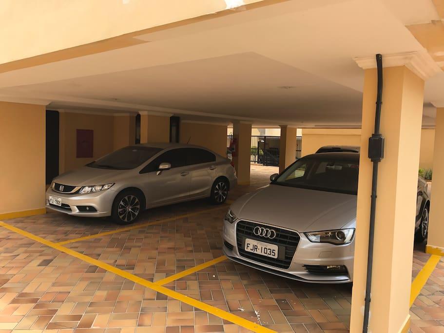 Garagem para 01 Carro.