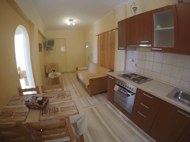Barbati, cosy sea view apartment - Corfu