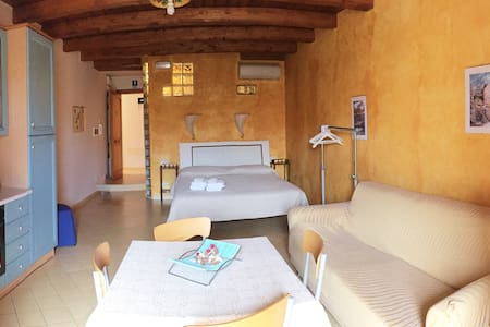 Open space vista Borgo di Chianalea a Casa Vela - Scilla - Bed & Breakfast