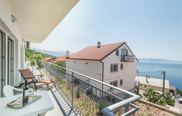 Amazing apartment in Senj with WiFi and 1 Bedrooms