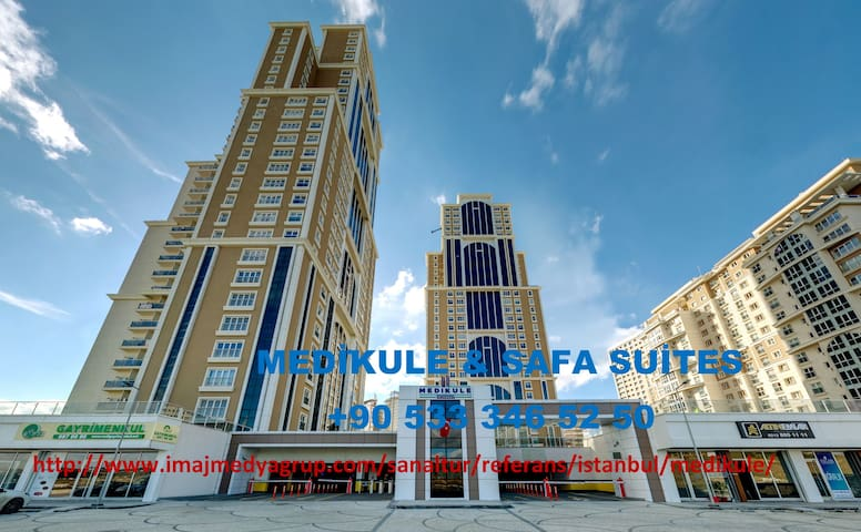 MEDİKULE & SAFA SUİTES RESİDENCE - Istanbul - Appartement