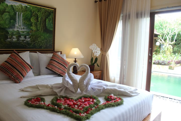 The Sujana Ubud - Guest House # 2 BR - Room Only