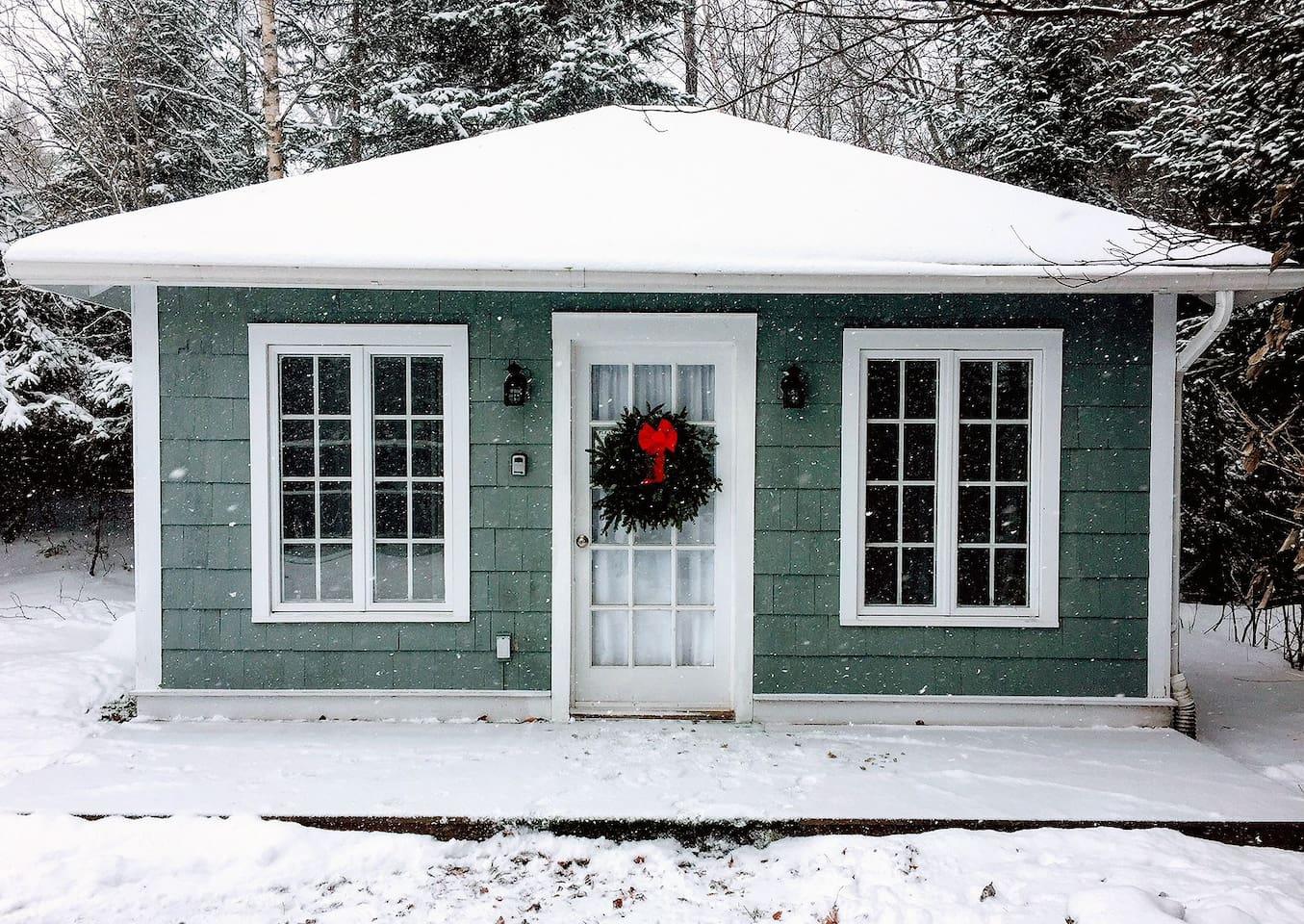 Studio Cottage, winter time
