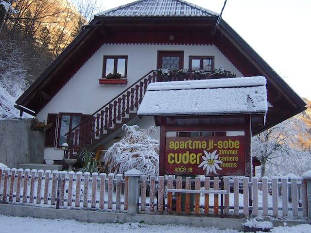 COSY APARTMENT CUDER - Bovec - House