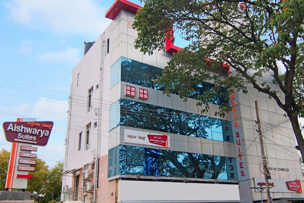 Facade @ Aishwarya Suites, Mysore