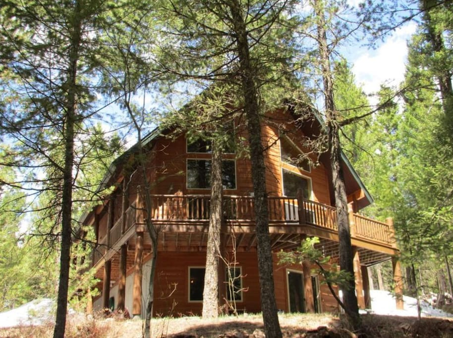 Our cabin on 2 acres of land. You will have peace and tranquility on this beautiful property.