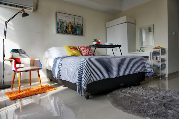 Cozy and chic 1 Bdrm Apartemen in a heart of BDG