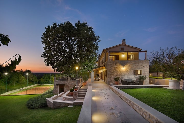 Luxury villa Labin Palace I with private infinity pool in Labin - Istria