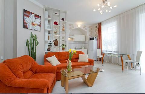 Красивая квартира возле Крещатика