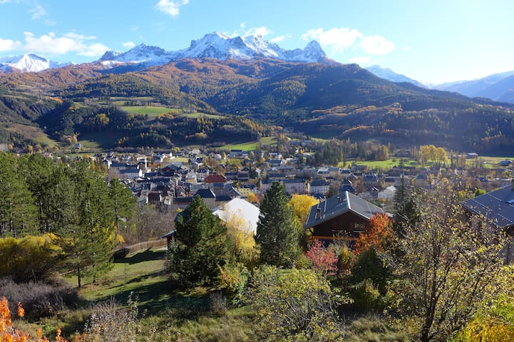 Beautiful apartment 90m2-panoramic view-barcelo - Barcelonnette - Appartement