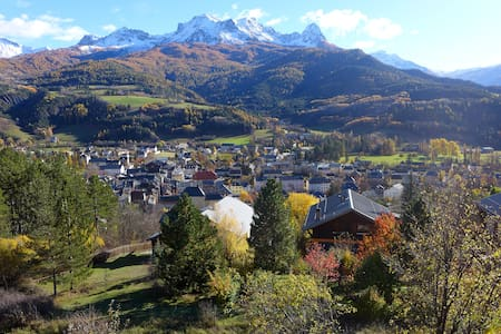 Beautiful apartment 90m2-panoramic view-barcelo - Barcelonnette - Lakás
