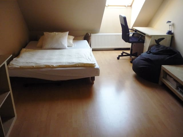 Privat room for 2 in an apartment in the center