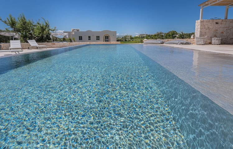 Luxurious Villa Nausicaa with Wi-Fi, Air Conditioning, Garden, Terrace & Pool; Parking Available