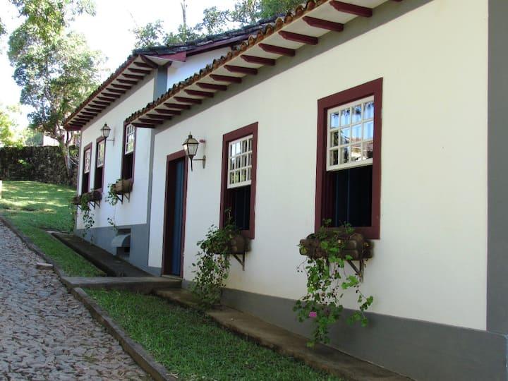 Casa Hibisco no Centro Histórico de Tiradentes