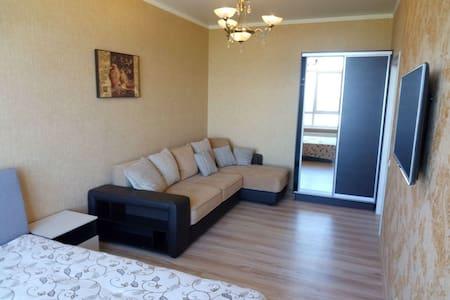 2х квартира в Кабардинке 10 этаж вид на море, евро - Kabardinka - Pis