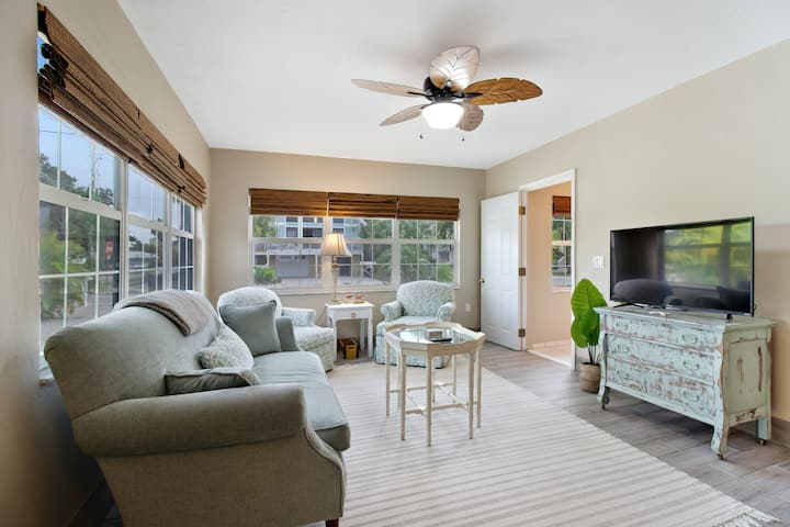 New listing! Inviting coastal getaway w/ easy beach access, full kitchen, & more