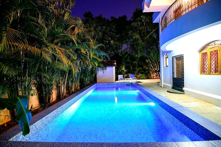 3BHK Private Villa with Large Private Pool -Anjuna