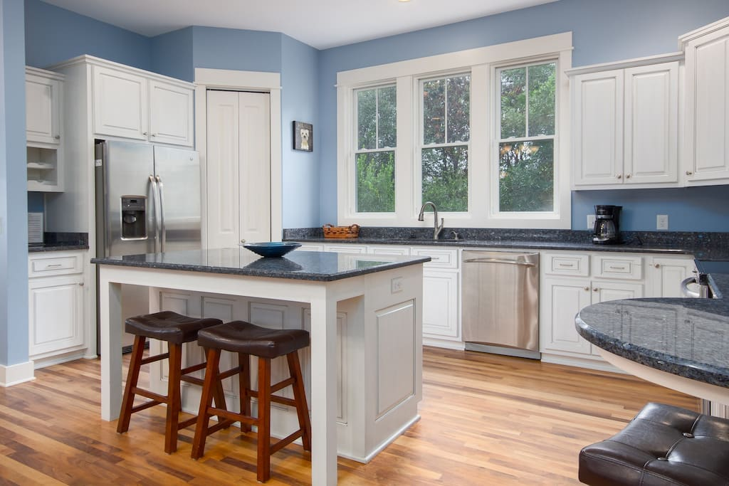 Gorgeous and Well-Appointed All Stainless Kitchen