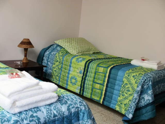Bedroom 3: 2 twin beds. Sleeps 2