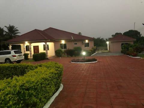 Serene Villa @ Ekwe,Western Region Ghana