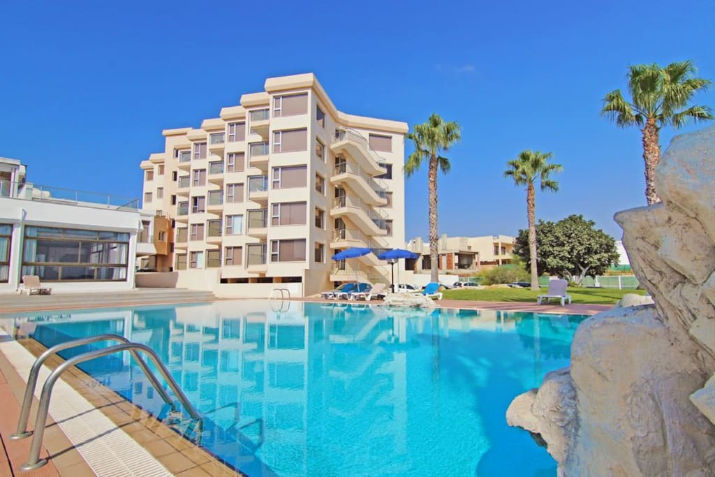 This is Palinio Complex Building on Fig Tree Bay, Protaras