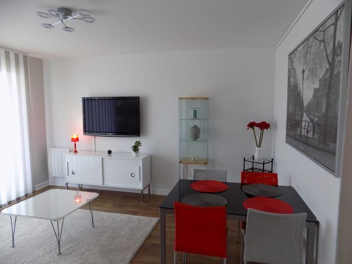 Appartement refait à neuf, Orléans Bords de Loire